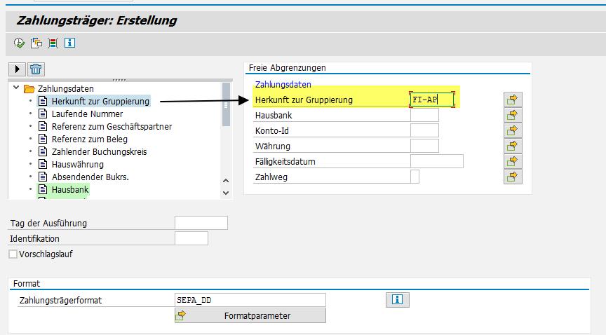 Erweiterung - Freie Abgrenzungen im Report SAPFPAYM - SAP ...